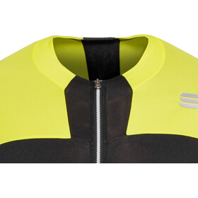 Sportful Strike Jersey Men black/tweety yellow